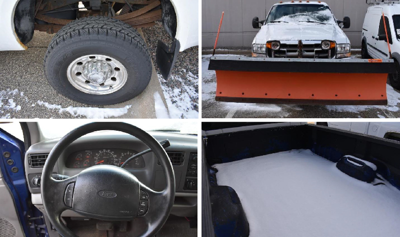 1999 Ford F-250 Pickup Truck With 8' Arctic Snow Plow