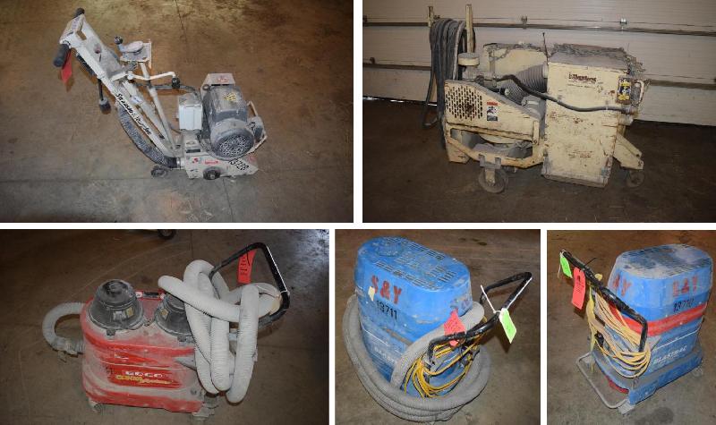 Concrete Floor Grinding Equipment