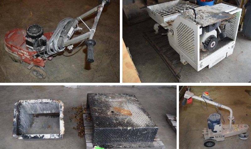 Concrete Floor Grinding Equipment