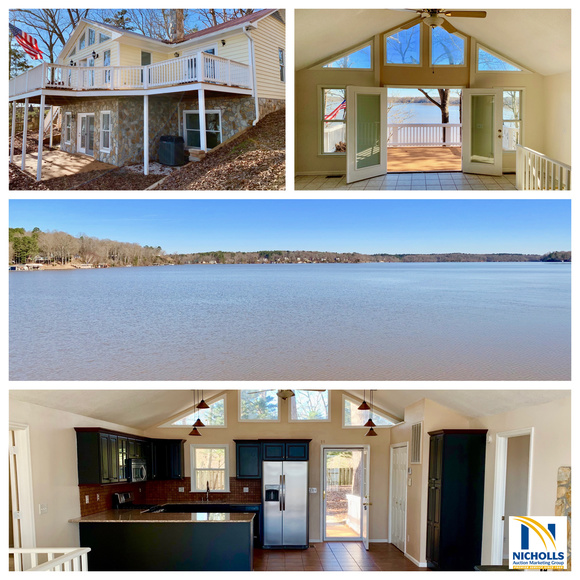 Featured Image for LAKE GASTON--Move-In Ready 2 BR/3 BA Waterfront Home w/Dock & Boat House PLUS an Adjacent Waterfront Building Lot