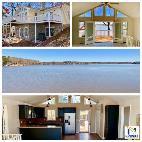 Image for LAKE GASTON--Move-In Ready 2 BR/3 BA Waterfront Home w/Dock & Boat House PLUS an Adjacent Waterfront Building Lot