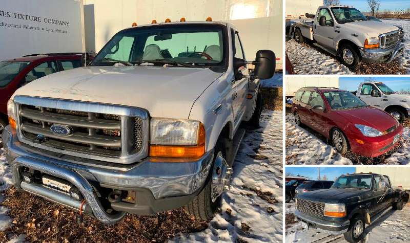 2000 Ford F-350 Tow Truck, 1996 Ford F-350, 2001 Ford Focus