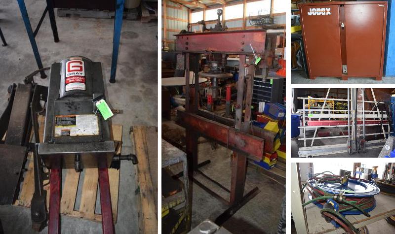 Heavy Truck Repair Shop Equipment