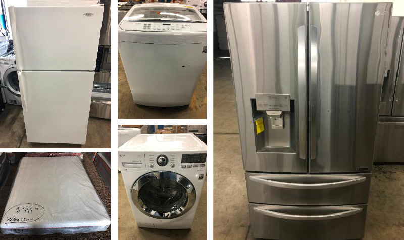 American Specialties NEW location Sale! Appliances, Mattresses, and More!