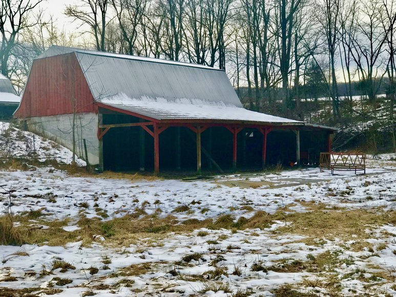 Featured Image for 3 BR Brick Home on 17 +/- Acres w/Barns, Outbuildings, Stocked Pond & Creek Running Through the Property--Loudoun County, VA