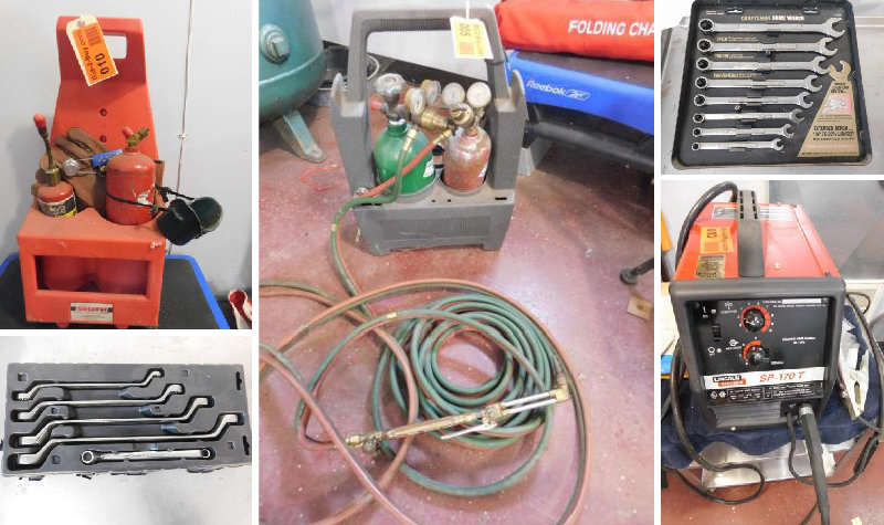 Semi-Retirement Tool and Equipment Auction