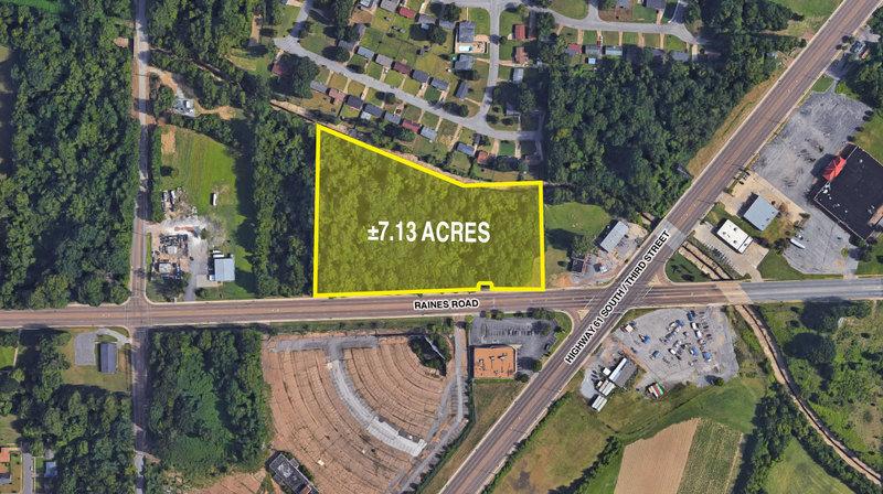 ±7.13 ACRES, Memphis TN Raines Road at Highway 61 South/Third Street, Memphis, TN