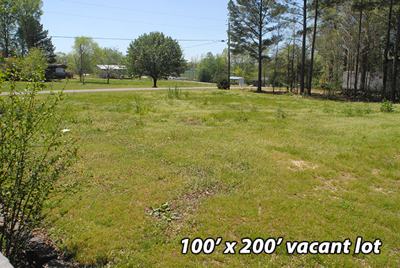 3 BR home and vacant lot 375 Haslip, Saltillo, TN 38370