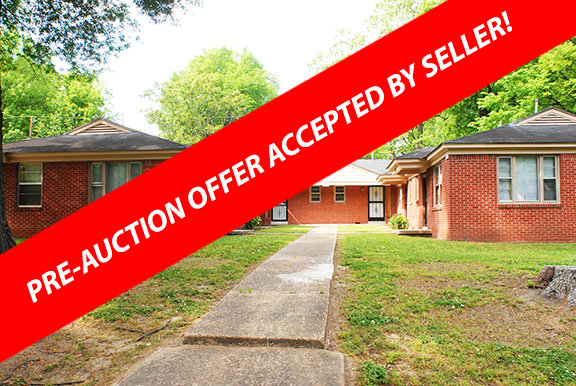3 Duplexes! Selling with no reserve!
