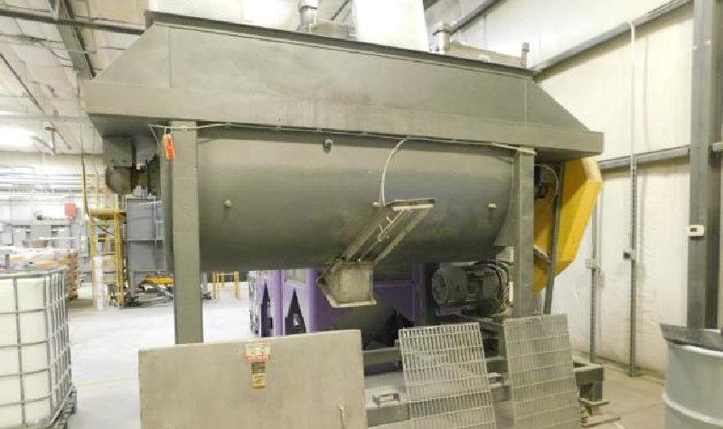 S Howe Double Ribbon Blender, AMS Bag Filler, & Industrial Surplus