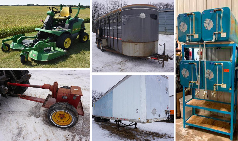 Surplus Farm, Shop & Industrial Equipment