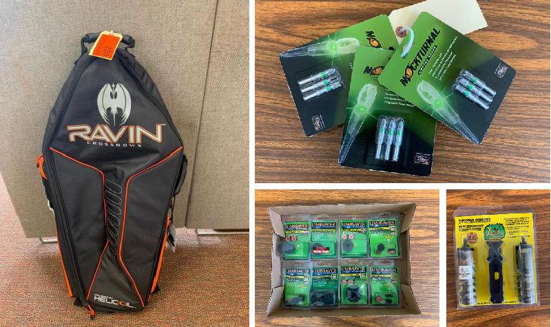 Archery Shop Liquidation: Techno Hunt TH400, Can-Am Commander, Bows, Arrows, Accessories