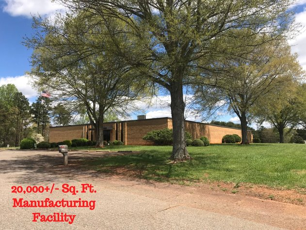 20,000 +/- Sq. Ft. Manufacturing Facility & 10.51 +/- Commercial Acres  In Catawba County, North Carolina