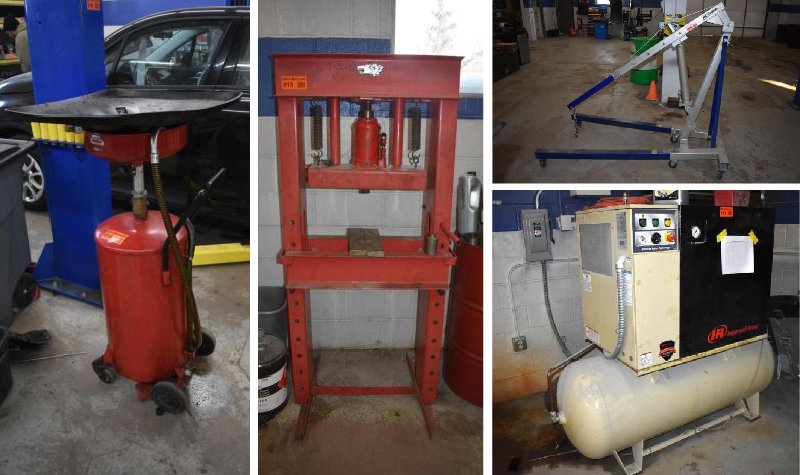 Auto Body and Auto Repair Shop Liquidation