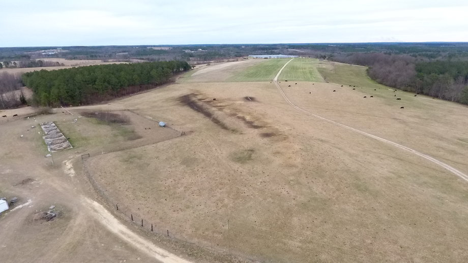 401.4+/- Acres Beef Cattle and Poultry Operation in Richmond County, NC