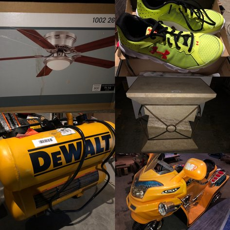 February Warehouse Auction - Returns, Overstock, Damaged, Unclaimed Items & More