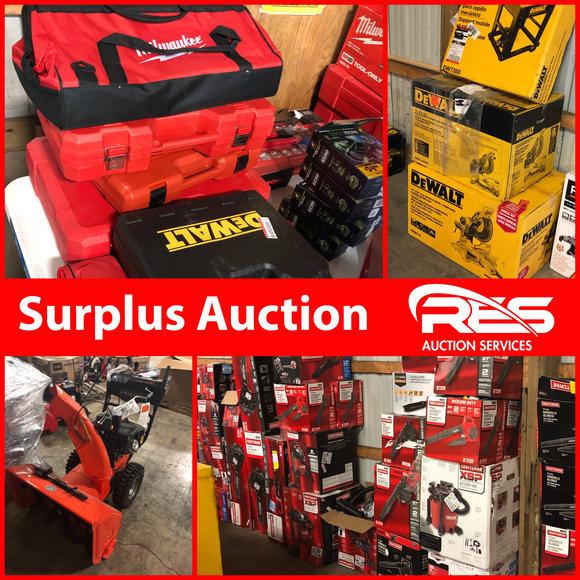 Huge Surplus Auction