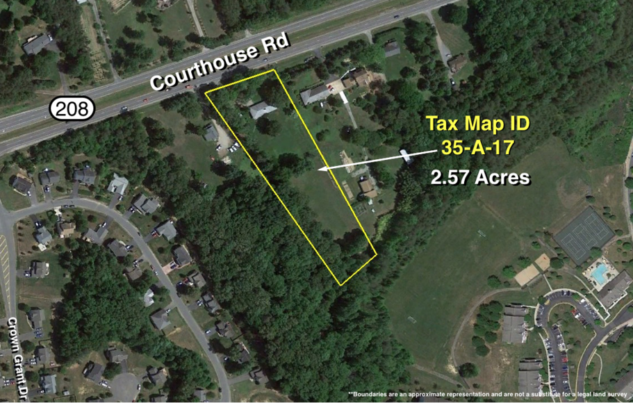 Featured Image for 3 BR/2 BA Brick Home on 2.57 +/-  Acres Fronting Courthouse Rd. (Rt. 208)--Spotsylvania County, VA