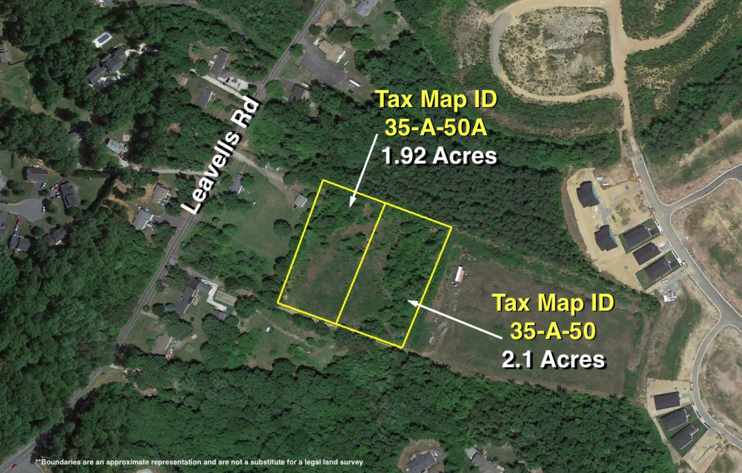 Image for 2 Lots Totaling 4 +/- Acres off of Leavells Rd.--Spotsylvania County, VA