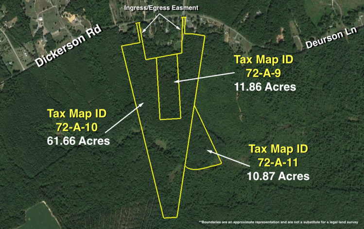 Image for 84 +/- Acres of Timber Land Zoned A-3 in Spotsylvania County, VA