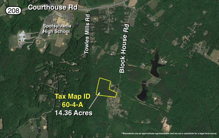 Image for 14.3 +/- Acres of Timber Land on Block House Rd. Near Spotsylvania High School