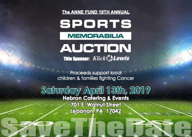 The Anne Fund - 19th Annual Sports Memorabilia Auction