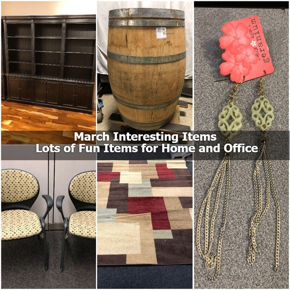 March Interesting Items