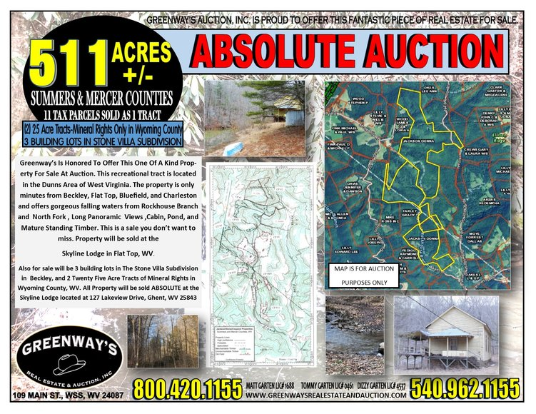 540 AC  +/- SOLD ABSOLUTE | Greenway's Real Estate and Auction