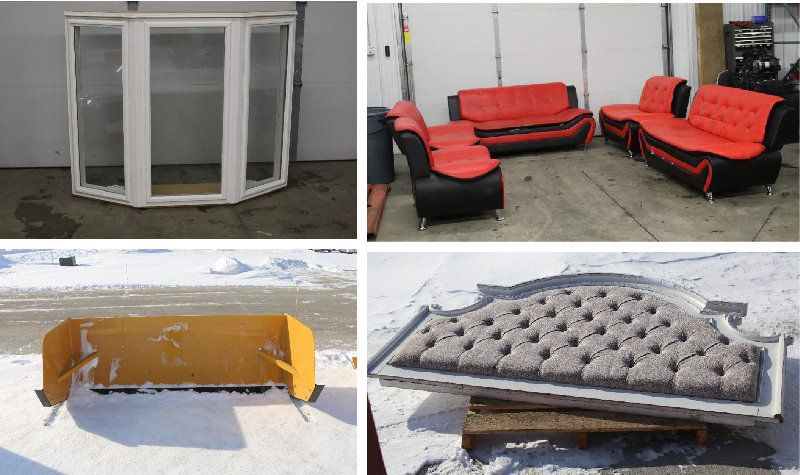 Snow Pushers, Furniture, Windows, Doors, and More!