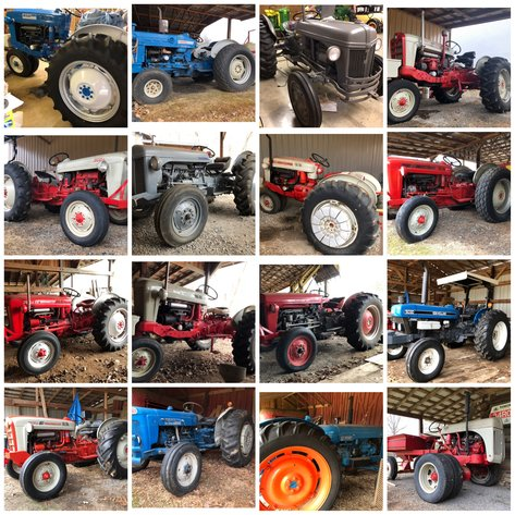 Collector Tractor & Farm Machinery Auction