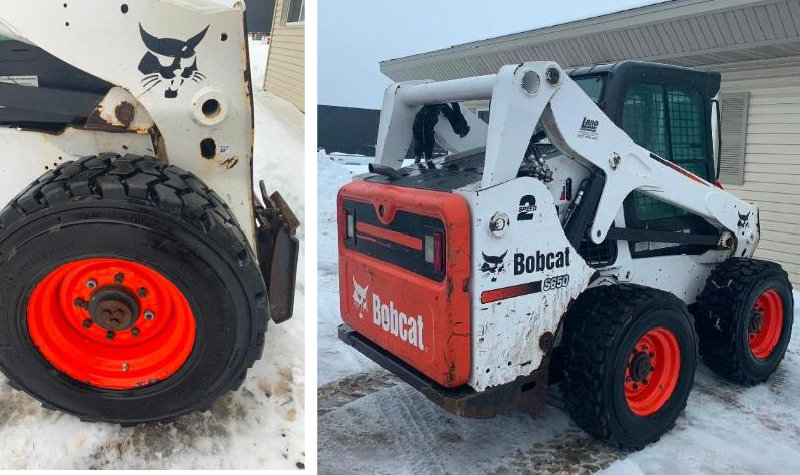 2010 Bobcat S650 Compact Skid Loader With 6' Bucket and 48