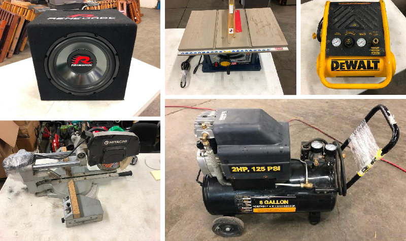 American Specialties Pawn Shop Closeout: Tools, Sub Speakers, Electronics, and More!