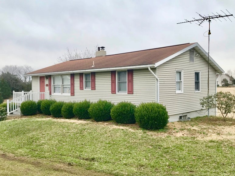 Featured Image for 2 BR/2 BA Home w/Walk-Out Basement & Outbuilding on 1.8 +/- Acres Only 3 Miles from Interstate 81--SELLS to the HIGHEST BIDDER!!
