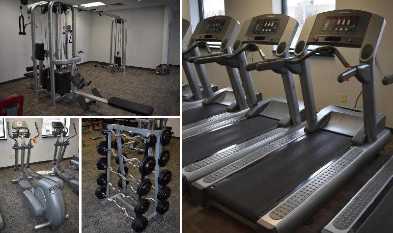 Fitness Club Equipment