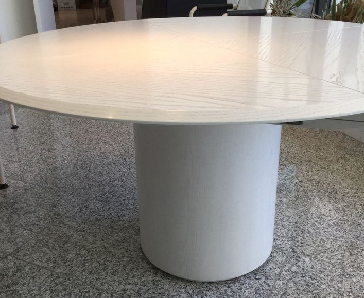 Alderfer Online - Villanova, PA Part 1 Auction: 4-14-19 | Majestic Villanova Estate Features Quadrondo Dining Table by Erwin Nagel for Rosenthal, Designer Clothing, Chrome Bar Stools, Art Deco Dining Table, Enameled Painting, Decoratives & More!