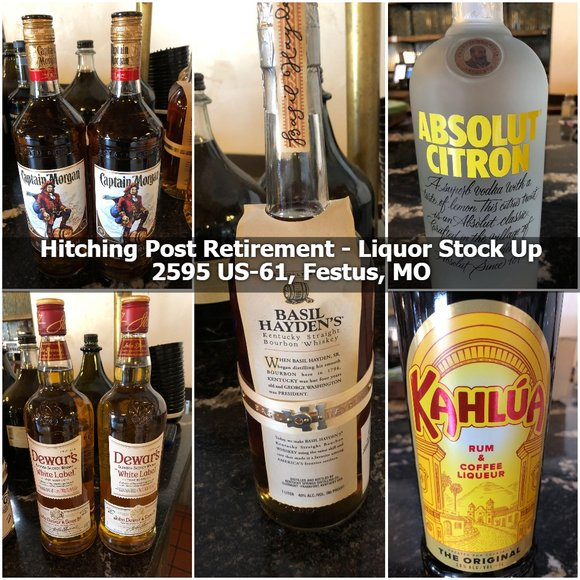 Hitching Post Retirement - Bar Stock Up