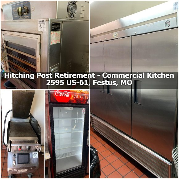 The Hitching Post Retirement - Commercial Kitchen