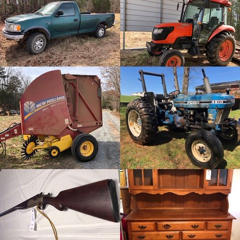 Farm Equipment, Firearms, Personal Property - Online Only