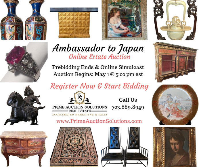 Ambassador to Japan Estate Online Auction