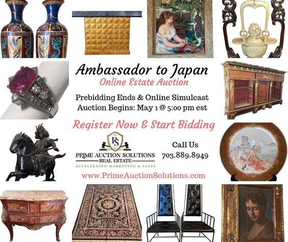 Ambassador to Japan Estate Online Auction