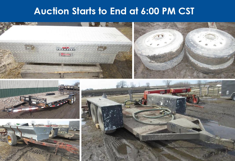 Farm Machinery Retirement/Consignment, Trailers, and More