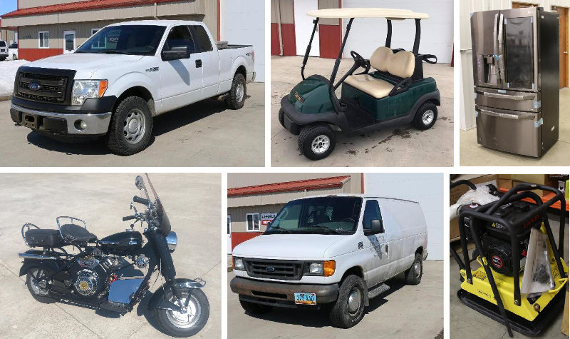 Vehicles, Lawn Care Equipment, Tools & More!