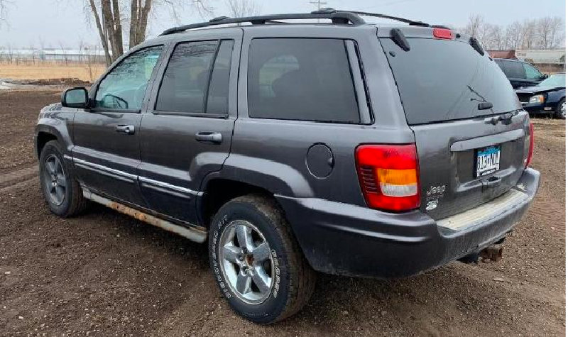 2001 Ford Focus, 2004 Chevrolet Duramax 2500HD, 2004 Jeep Cherokee 4X4