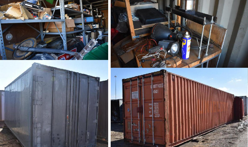 Sea Containers, Ford 8N Tractor and Equipment