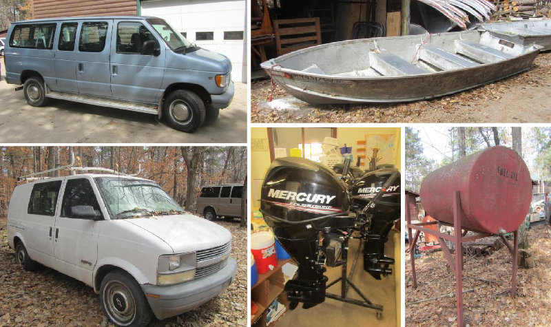 Camp Lincoln Vehicles, Equipment and Personal Property Reduction