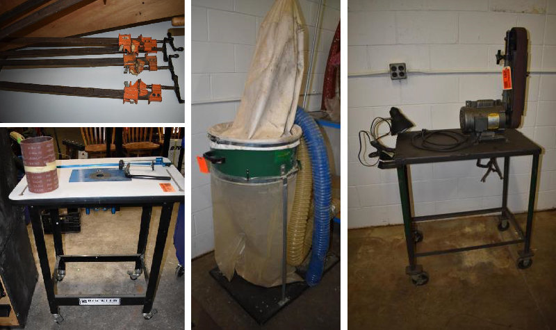 (2) Like New Better Built Gang Boxes, Woodshop Tools, Lumber, Budweiser Collectibles, Household & More