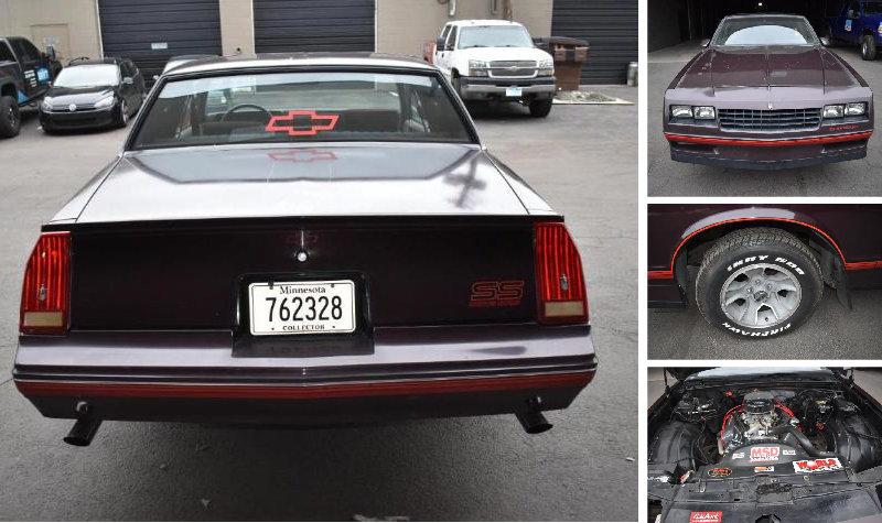 1988 Chevrolet Monte Carlo S.S.