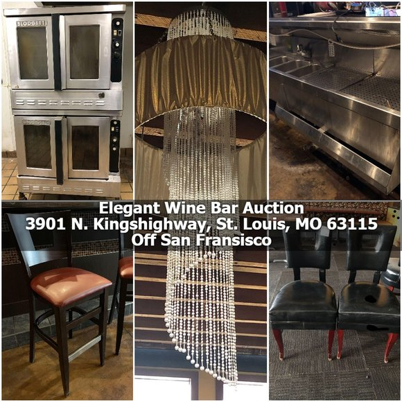 Elegant Wine Bar Sale