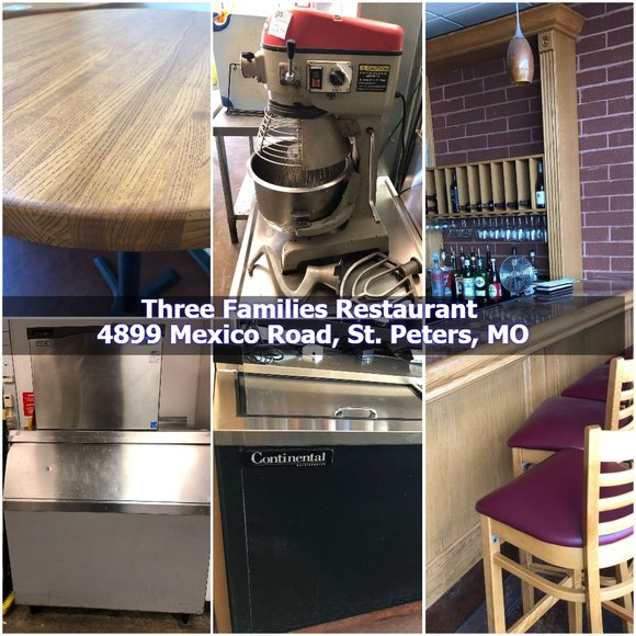 Three Familes Restaurant Auction