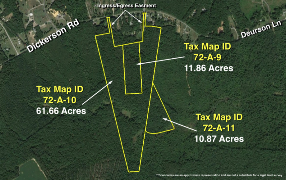 84 +/- ACRES OF TIMBER LAND ZONED A-3—SPOTSYLVANIA COUNTY, VA